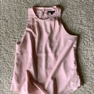 Soft pink dressy tank!